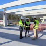 Visita de trabalho à nova unidade da empresa Eberspächer