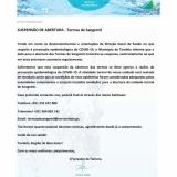 SUSPENSÃO DE ABERTURA - Termas de Sangemil