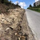 Alargamento da estrada que liga a povoação do Cadraço a Jueus