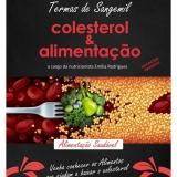 Palestra sobre Colesterol e alimentação saudável