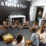 """Grupo da """"Aventura de Verão"""" no Museu Terras de Besteiros"""