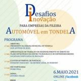 """Workshop """"Desafios da Inovação para empresas da fileira automóvel em Tondela"""""""