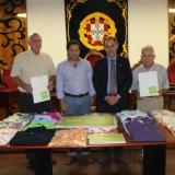 ASAE distribui material recolhido em operação de fiscalização pelas Misericórdias do Concelho de Tondela