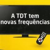 Alteração da rede de emissores da Televisão Digital Terrestre (TDT)
