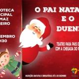 "O Pai Natal e o Duende"" na Biblioteca Municipal de Tondela"