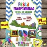 O VERÃO CHEGOU FESTA DE ENCERRAMENTO - ESCOLA DE NATAÇÃO