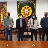 Assinado auto de consignação para empreitada de recuperação da Frente Ribeirinha do Rio Dinha