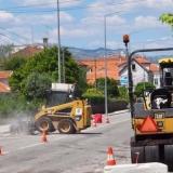 Repavimentação de várias vias na cidade de Tondela